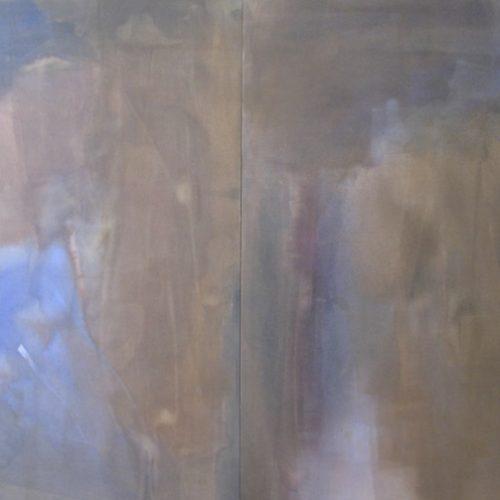 Heather's Africa Mystic Series Acrylic on canvas