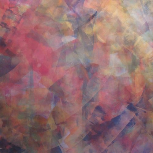 Mystic Series Acrylic on canvas 67 x 103 inches