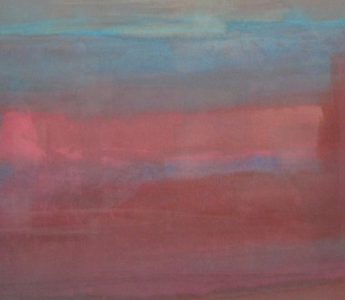 Mystic Series Acrylic on canvas 37 x 67 inches