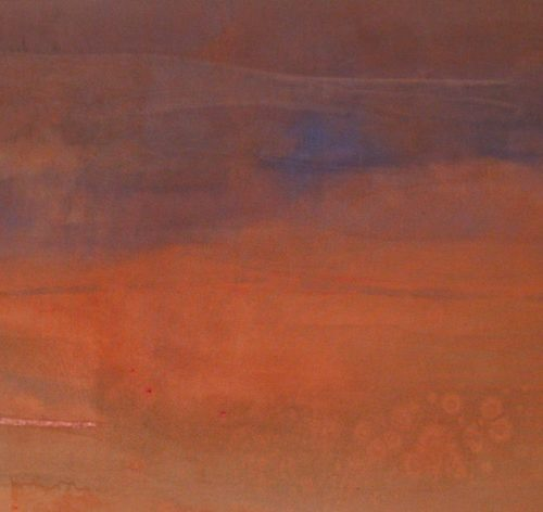 Mystic Series Acrylic on canvas 31 x 51 inches