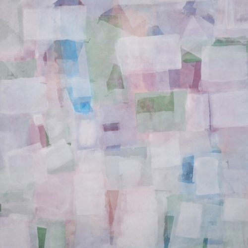 White Nights Radiant Light Series Acrylic on canvas 68 x 87 inches
