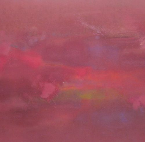 Mystic Series Acrylic on canvas 40.25 x 61.75 inches