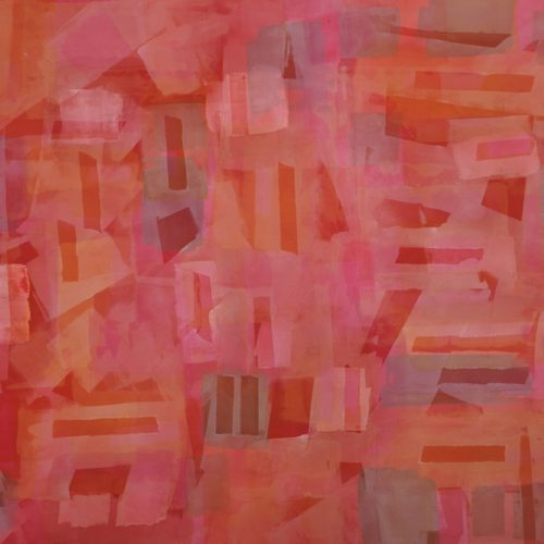Kinetically Radiant Light Series Acrylic on canvas 57 x 68 inches