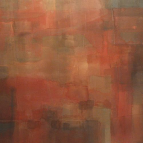 Mystic Series Acrylic on canvas 58.25 x 64.5 inches