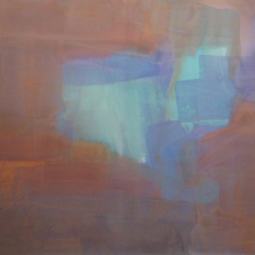 Mystic Series Acrylic on canvas 61 x 81 inches