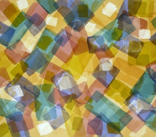 One Fine Day Paths of Light Series Acrylic on canvas 835 x 57 inches