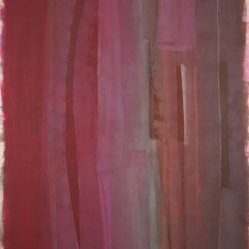 Ribbons of Colour Stripe Series Acrylic on canvas