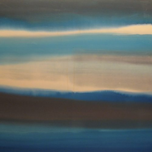 Sunset Series Acrylic on canvas 50 x 66.5 inches