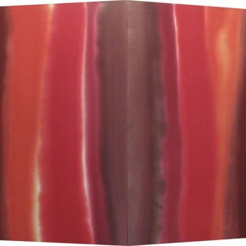 Energy Aura V Series Acrylic on canvas 72 x 45 inches