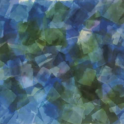 Flying Dove Paths of Light Series Acrylic on canvas