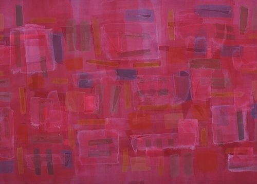 Maggie Paths of Light Series Acrylic on canvas 57 x 32 inches