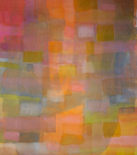 The Meeting Paths of Light Series Acrylic on canvas
