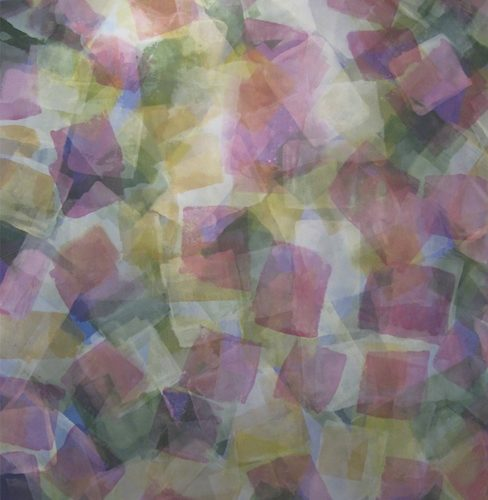 Song of Summer Paths of Light Series Acrylic on canvas 945 x 725 inches