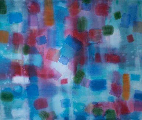 Tumbleweed Paths of Light Series Acrylic on canvas