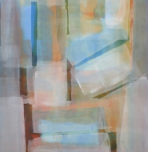 Paths of Light Series Acrylic on canvas 37 x 28 inches