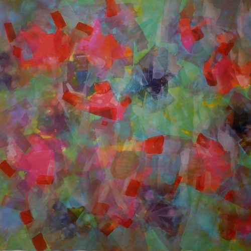Field of Dreams Paths of Light Series Acrylic on canvas