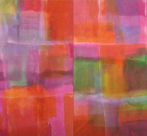 Windows of Light Paths of Light Series Acrylic on canvas